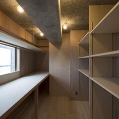 納戸/収納/ベニヤ 合板壁  (どこでもフック設置可能)