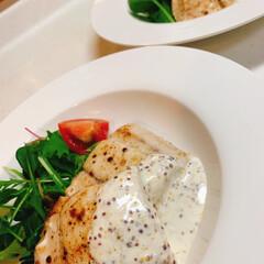 ムニエル/カンタンソース作り/おうちごはん/簡単 今夜は白身魚のムニエル🍽🥂  カンタンに…