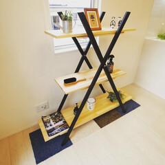 シェルフ/棚/インテリア/手造り家具/手作り家具/オーダー家具 オーダー家具サンプルシェルフ! 上から檜…