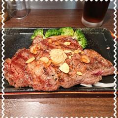 プレゼント/いきなりステーキ/至福のひと時/ランチ 今年も いきなりステーキでお誕生日の月の…