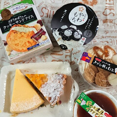 ドンレミー/NYチーズケーキ/アップルポテトタルト/わらしべ長者/桃ジャム/桃 福島の田舎から実家に桃が届いたので 初め…(2枚目)
