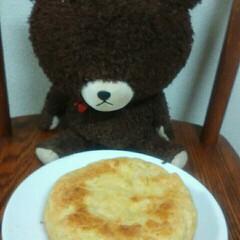 メガドンキー/フォロー大歓迎/冬/おうち/ごはん/ハンドメイド/... 今さっき作ったばかりの炊飯オーブンパンで…
