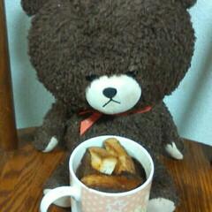 COOKPAD/フォロー大歓迎/ハンドメイド/グルメ/フード/スイーツ/... チョコレートパンプディングです‼パンが入…