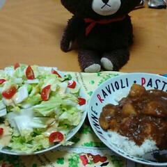フォロー大歓迎/GW/至福のひととき/LIMIAごはんクラブ/おうちごはんクラブ/キッチン雑貨/... ゴールデンウィークは、カレーを作りました…(1枚目)