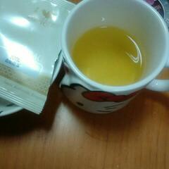 ルピシア紅茶/緑茶白桃煎茶/フォロー大歓迎/冬/おうち/住まい 白桃煎茶う、上手い‼ほのかに香る緑茶のも…
