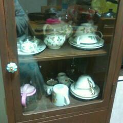 フォロー大歓迎/冬/DIY/キッチン/キッチン雑貨/雑貨/... ジモティーのアンティークの食器いれを  …(1枚目)