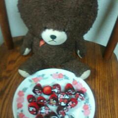 バレンタインチョコ/フォロー大歓迎/冬/おうち/ハンドメイド/グルメ/... バレンタインのチョコを作って食べました美…