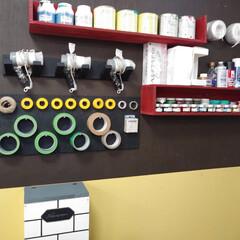 壁面収納/DIY/手作り/マステ/マステ収納 当店ではただいま壁面収納のリニューアルを…