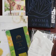 アロマdeマスク | AROMA de mask(アロマグッズ)を使ったクチコミ「アロマde マスク使ってみました。 シー…」