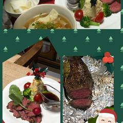 おうちごはん/ごはん 何十年かぶりにクリスマスのローストビーフ…