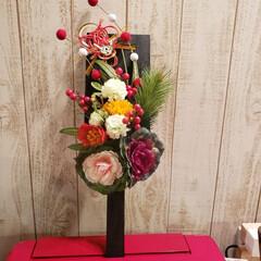 羽子板/リミアの冬暮らし/ダイソー/100均/DIY/雑貨/... お正月 玄関飾りにするため作ってみました…