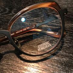FREDERICBEAUSOLEIL/メガネ/眼鏡/フォロー大歓迎/ファッション 少しフォックスタイプ👓 まるメガネの次に…