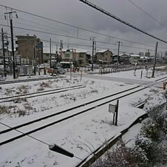 雪景色/お天気情報 ものの数時間でこちら真っ白なりました~💦
