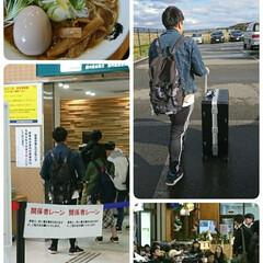 オーストラリア/空港/修学旅行/濃厚煮干し/ラーメン/フォロー大歓迎 本日息子は修学旅行🇦🇺へ旅立ちました✈️…