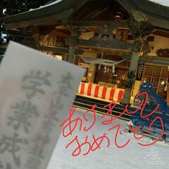 リミとも部/願い事/正月/合格祈願/初詣 🗻新春のお慶びをも申し上げます🎍  昨年…(1枚目)