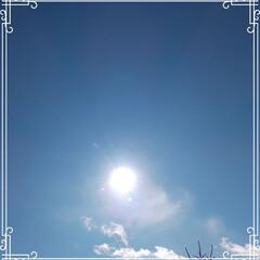 晴れ/太陽/青空  こんにちは😊  今年は皆さんに沢山のい…