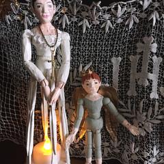 デッサン人形/サントス人形/santos cage doll/フレンチ/アンティーク My artwork #1 「デッサン人…