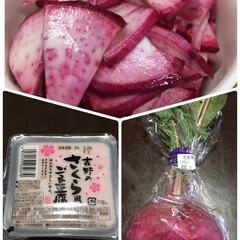 胡麻豆腐/赤かぶ/キッチン 🥗スーパーで、一目惚れ😳💓 〜私を買って…(1枚目)