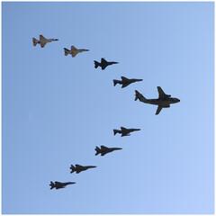 飛行機/航空祭/キャノン/一眼レフ 昨年の航空祭♡ 青空を羽ばたく飛行機✈ …