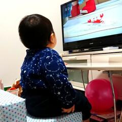 赤ちゃんのいる暮らし/赤ちゃん/ハンドメイド/DIY/雑貨 この前のいすに座っておかあさんといっしょ…