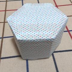 牛乳パックリメイク/手作り/ハンドメイド/DIY やーっと完成! まえにも作ったパック椅子…
