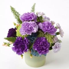 母の日/カーネーション/ムーンダスト/青いカーネーション/プレゼント/贈り物/... 普段は恥ずかしくて口に出せない感謝の言葉…