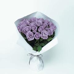 バラ/ガーデニング/花束/切花/アプローズ/園芸/... 実現は不可能とされてきた青いバラですが、…