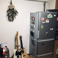 賃貸暮らし 白い冷蔵庫がほしい…!