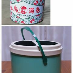 リメイク/缶/住まい/収納/DIY/インテリア/... 納屋に転がっていた蚊取り線香の缶をリメイ…