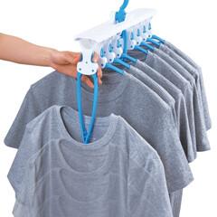 便利/ハンガー/洗濯ハンガー/洗濯/ワンタッチハンガー/Tシャツ/... 〔ダイヤコーポレーション〕の《ダイヤ ワ…