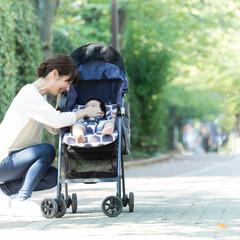 ベビーグッズ/赤ちゃん/ベビーカー/日よけ/便利グッズ/雑貨/... ベビーカーに乗っている小さなお子さんの場…