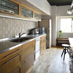 マンション/二世帯 ゆったりとした広さのキッチンは、施主支給…