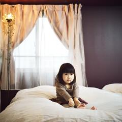 マンション 「優しいイメージ」の寝室は奥様のオーダー…