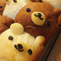 おうち時間/ちぎりキャラパン/ちぎりパン/手作りパン ちぎりパン  🐻さんバージョン  キャラ…(2枚目)