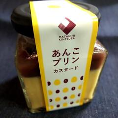 あんこプリン/MATAICHI KINTSUBA/マタイッコタベタイカフェ 出先の高速のサービスエリアで 美味しそぉ…(1枚目)