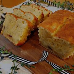 バナナ消費/手作りスイーツ/手作りおやつ/バナナパウンドケーキ/パウンドケーキ 連休最終日。 子供たちはそれぞれお忙し。…