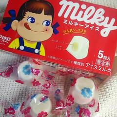 ミルキーアイス/不二家ミルキー/セブンイレブン コレ、めっちゃ美味しい(♡ˊ艸ˋ) セブ…