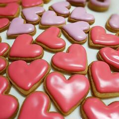 アイシング/手作りクッキー/アイシングクッキー ミニミニ♥のアイシングクッキーです  年…