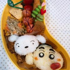 懐かしい/クレヨンしんちゃん/幼稚園弁当/息子弁当/キャラ弁 おはようございます( *´︶`*) 今日…