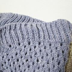ハンドメイド 昨年、自分へのご褒美に輪編みのセットを買…(2枚目)