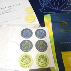 アロマdeマスク | AROMA de mask(アロマグッズ)を使ったクチコミ「アロマdeマスクモニターキャンペーン商品…」(2枚目)