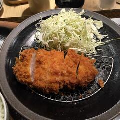 きょう何食べた?/とんかつ 昨日の晩ごはん。 JR錦糸町の駅ビルに入…