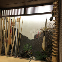 瓢箪 ひいお爺ちゃんが作った瓢箪❣️ 父は竹に…