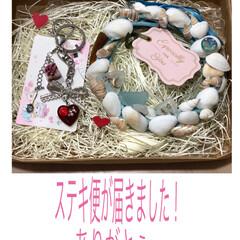 ステキ便/誕生日プレゼント/リミ友さん リミ友さんから💕お誕生日プレゼント🎁届き…