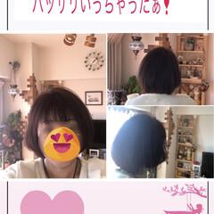 Before忘れた/髪をばっさり お久しぶりで〜す❣️元気👍よん❣️  今…(1枚目)