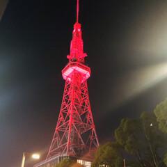 一難去ってまた一難/早く収束しますように/新型コロナウイルス 名古屋のテレビ塔8/24まで赤く照らされ…