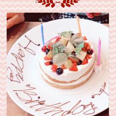 美容院で贅沢/幸せなお誕生日/孫からプレゼント 今日は私のお誕生日🎂なのです❣️ 朝から…(3枚目)