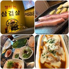 外食/韓国屋台 家の近くの韓国屋台へ行きました😊 韓国に…