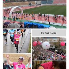 名古屋シティマラソン/山中湖ロードレース/マラソン こんな綺麗な富士山💕絶景を眺めながら😊爽…(2枚目)