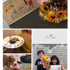 美容院で贅沢/幸せなお誕生日/孫からプレゼント 今日は私のお誕生日🎂なのです❣️ 朝から…